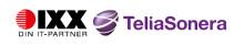 IXX IT-partner samarbetar med TeliaSonera i komplett outsourcing-tjänst.