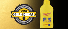 GULD I SENAPS-VM TILL JOHNNY'S® YELLOW MUSTARD!