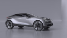 KIAs Futuron koncept introducerer et lysende nyt design til en elektrisk SUV-coupé