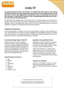 Produktbeskrivning Inobiz RT (pdf)