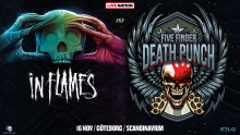 ​In Flames och Five Finger Death Punch till Scandinavium