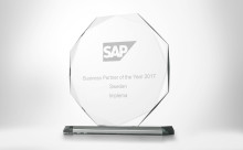 Implema utsedd till SAP Business Partner of the Year för fjärde året i följd
