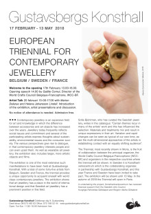 INVITATION – Opening of the European Triennial for Contemporary Jewellery