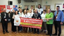 Night cafe to support the homeless in Bury