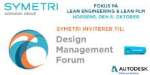 Oplev hvordan du kan optimere din produktionsproces på Design Management Forum hos Symetri