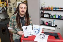 Brother sine bærbare skrivere er en kjempehit blant tatovører