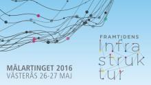 Pressinbjudan: Konferens om framtidens infrastruktur, Västerås 26 maj