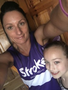 Kexborough mother-of-four goes the extra mile for the Stroke Association