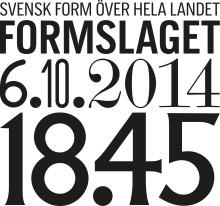 Svensk Form korar lokala Formbärare över hela landet