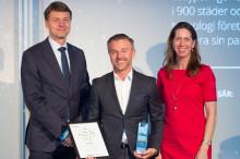 EasyPark utsedda till ett av Sveriges mest välskötta företag