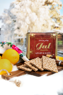 Leksands Knäckebröd lanserar exklusivt julknäcke med smak av apelsin och kanel