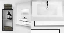 Wettern fra Aspen er Nordens mest vandafvisende badeværelsesmøbelserie i et unik design