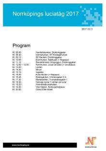 Program Lucia 2017