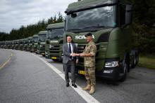 De første nye Scania til Forsvaret efter fem års forberedelser