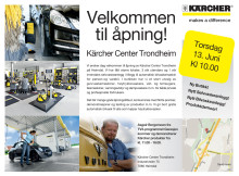 Kärcher Center Trondheim Flyer