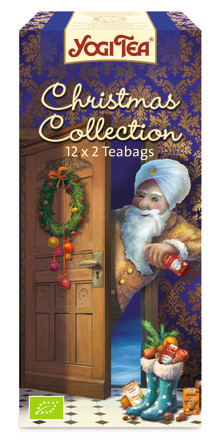 12 kryddiga teer i samma ask! Yogi Tea Christmas Collection.