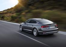 Den nye Audi A5 og S5 Sportback – design møder funktionalitet