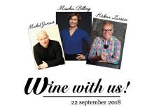 Wine with us! –  dags för populär vinmässa 22 sept!