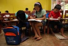 Skolan läker såren efter stormen Washi