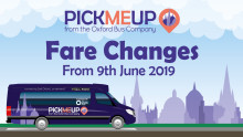PickMeUp Fare Changes
