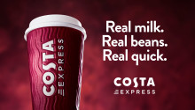 COSTA EXPRESS REVEALS FRESH NEW LOOK AND CAMPAIGN