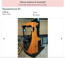 Över 100 000 registrerade budgivare på Klaraviks auktionsplattform