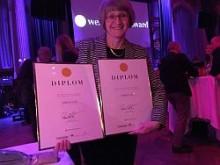 """Hedersutmärkelse """"All time high"""" för Arboga kommuns webbplats"""