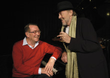 Fællessang og barndomsminder med Benny Andersen og Povl Dissing i VEGA