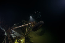 Svenskt spaningsflygplan funnet på sjöbotten - och dokumenterat i 360° grader