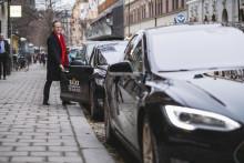 Taxibranschen fossilfri på 3 år?