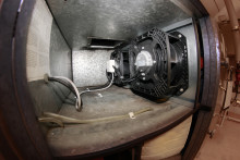 Energismart ventilationslösning med dubblerade EC-lågenergifläktar i  trångt ventilationsaggregat