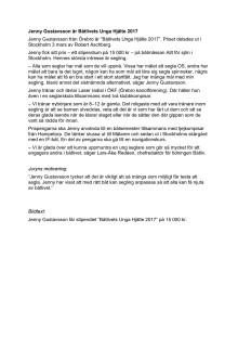 "Jenny Gustavsson får stipendiet ""Båtlivets Unga Hjälte 2017"" på 15 000 kr."