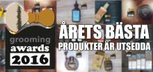 Grooming Awards 2016 - årets bästa produkter för män!