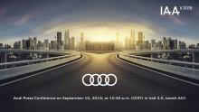 Audi på IAA Frankfurt 2019