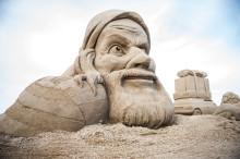 Barn- och ungdomsaktiviteter vid årets sandskulpturfestival