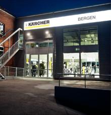 Kärcher åpner ny konseptbutikk med bilvaskeanlegg i Bergen