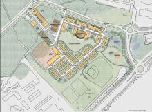 Veidekke Eiendom tilldelas markanvisning för 300-450 bostäder på Gavlehov Östra