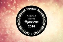 Her er de nominerte til årets nyhetsrom 2016