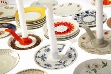 Ljushållaren Isolde väcker liv i dina gamla och omaka tallrikar & assietter