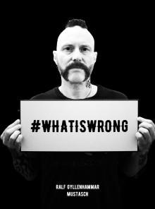 Mustasch startar insamlingen #whatiswrong i samarbete med stödorganisationen Mind