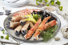 Norwegian shellfish exports lower in first half of 2017