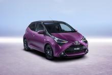 Nye Toyota AYGO –nytt ansikt og forsterket kjøreglede