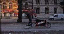 Nu rullar Jetpaks cykelbud på gatorna i Göteborg city
