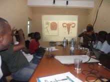 Fotbollstränare i Moçambique lär sig förebygga HIV