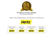 Hertz er kvinnenes favoritt