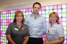 "Health Minister ""impressed"" by commitment and dedication of BCH staff"