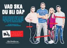 AllaStudier.se Kampanj: Vad ska du bli då? - Halvsida