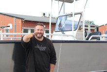 Prylsnack med sportfiskeguiden Johan Broman