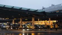 Ny taxistation invigd på Arlanda