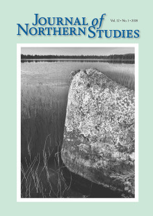Nytt nummer av Journal of Northern Studies